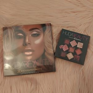 ❤NWT Huda Beauty Mauve Palette and Highlighter